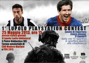 25 Maggio 2013 – Primo Lupolo Playstation Contest
