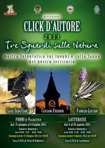 Click d'autore 2013 – Tre sguardi sulla natura