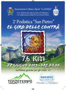 """Seconda podistica """"San Pietro"""" El giro delle contrà – 28 Giugno 2013"""