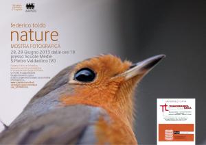 Nature. Mostra fotografica di Federico Toldo a S.Pietro