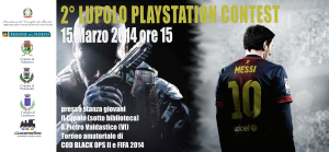 2° Lupolo Playstation contest – 15 Marzo 2014
