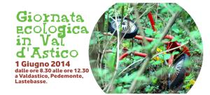 Giornata ecologica in Val d'Astico, 1 Giugno 2014
