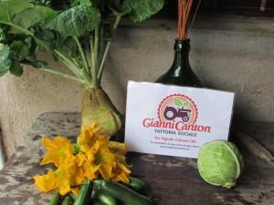 I buoni prodotti dell'autunno alla Fattoria Sociale Gianni Canton