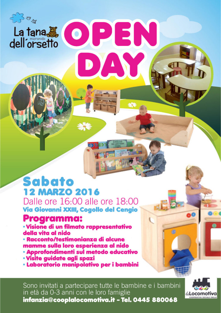 Open Day Orsetto nido 2016