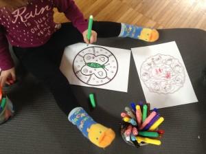 Yoga per bambini a Posina: sento, respiro, sono.