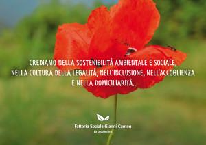 La nostra nuova brochure della Fattoria Sociale Gianni Canton!